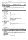 Sicherheitsdatenblatt - Spiess-Urania Chemicals GmbH - Page 7