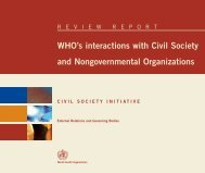 Who's interactions with Civil Society and ... - Tushita Graphic Vision