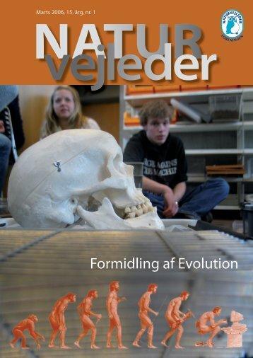 Formidling af Evolution - Naturvejlederforeningen i Danmark