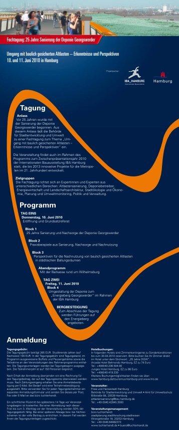 Tagung Programm Anmeldung - luchterhandt