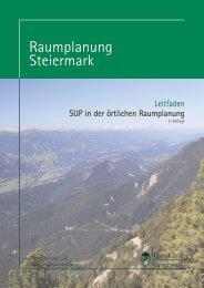 SUP-Leitfaden 2. Auflage (pdf) 5 MB - Raumplanung Steiermark
