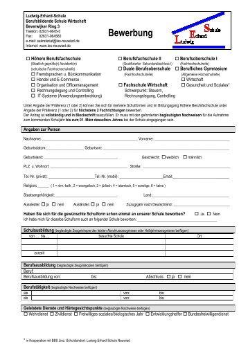 Anmeldeformular BAG (pdf-Format) - Technische Schule Aalen
