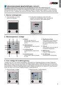Bruksanvisning & monteringsanvisning – Manöverpanel 3010 613 ... - Page 3