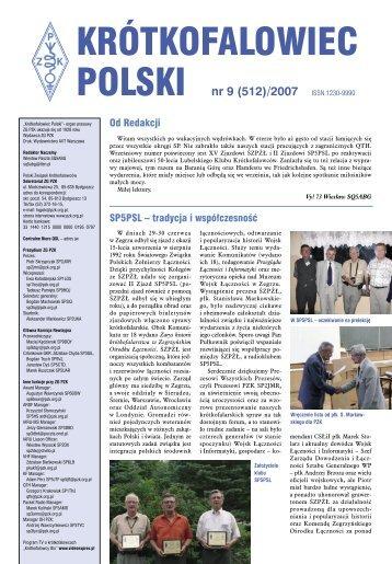 KRÓTKOFALOWIEC POLSKI nr 09 (512)/2007