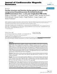 Cardiac structure and function during ageing - BioMed Central