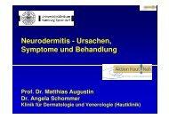 Neurodermitis - Ursachen, Symptome und Behandlung
