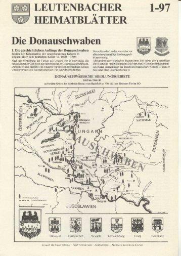 Die Donauschwaben - Leutenbach