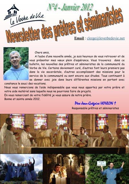 Père Jean-Grégoire HOULON † - Le Verbe de Vie