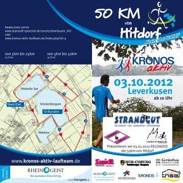 50 Km Hitdorf - Leverkusen