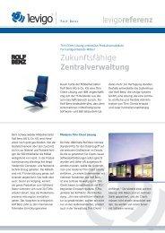 Referenzbericht Rolf-Benz - Levigo Holding GmbH