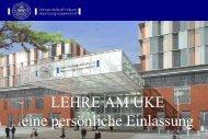 Lehre am UKE - Universitätsklinikum Hamburg-Eppendorf