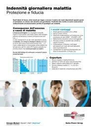 Flyer prodotto indennità giornaliera - PDF(331Kb) - Groupe Mutuel