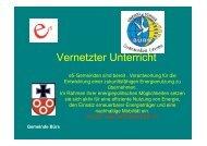 e5 und Schulprojekt WASSER IST LEBEN Ersteller Wolfram Wachter