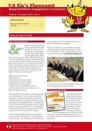 Newsletter Nr.18 - Stadt Leverkusen