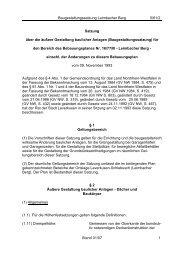 Baugestaltungssatzung Leimbacher Berg 5/61/2 ... - Stadt Leverkusen