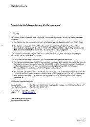 Anmeldeformular Haushaltspersonal - Unfallkasse Hessen