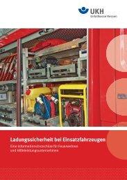 Ladungssicherheit bei Einsatzfahrzeugen - Unfallkasse Hessen