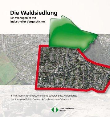 Waldsiedlung Broschüre - Stadt Leverkusen