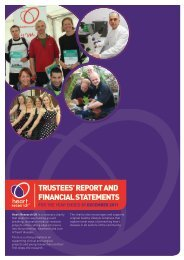 Annual report and accounts 2011 - Heart Research UK