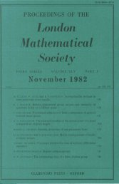 Proceedings of the Linnean Society of London - University