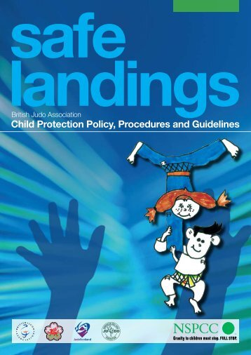 Child Protection Policy, Procedures and Guidelines - Judo Scotland