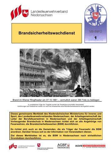 VB-Info 1 / Brandsicherheitswachdienst - Landesfeuerwehrverband ...
