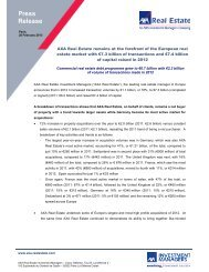 13 02 28 AXA Real Estate undertakes €7.3bn of ... - Business Immo
