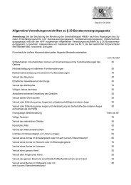 PDF: Allgemeine Verwaltungsvorschriften zu § 30 ...