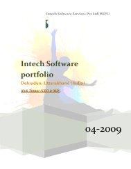 Intech Software portfolio - IndiaMART