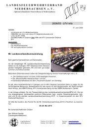 98. Landesverbandsversammlung - Landesfeuerwehrverband ...