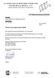 Verkauf eines gebrauchten KdoW - Landesfeuerwehrverband ...