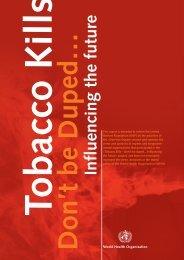 Tobacco Free Initiative - Tushita Graphic Vision
