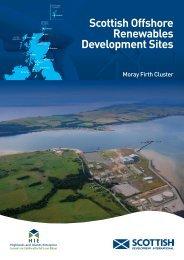 Scottish offshore renewables development sites, Moray Firth cluster