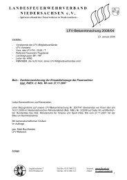 Dachkennzeichnung der Einsatzfahrzeuge - Infoportal der ...