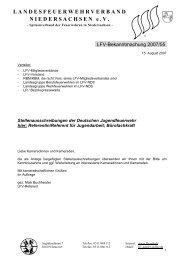 Stellenausschreibungen der Deutschen Jugendfeuerwehr hier