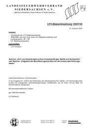 Teilnehmermeldung - Landesfeuerwehrverband Niedersachsen
