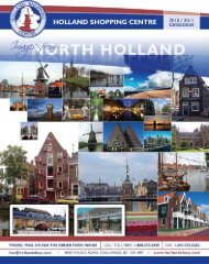 our new 2010-2011 catalogue! - Holland Shopping Centre