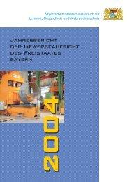 Jahresbericht 2004 - Bayerisches Landesamt für Gesundheit und ...
