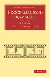 Indogermanische Grammatik, Volume 3, Das Nomen