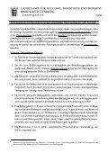 Erforderliche Unterlagen für die Herstellung/Auffahrung eines ... - Seite 2