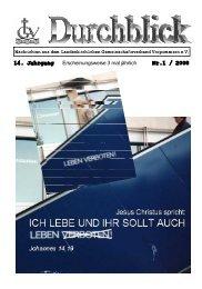 14. Jahrgang Nr.1 / 2008 - Landeskirchlicher Gemeinschaftsverband ...