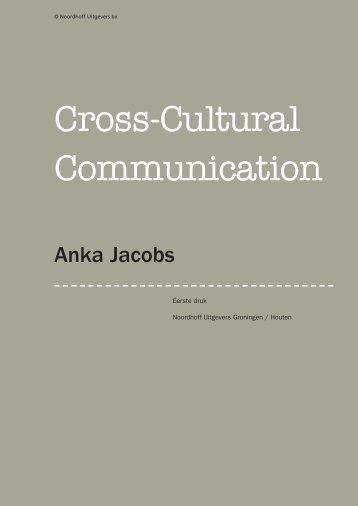 Cross-Cultural Communica tion - Noordhoff Uitgevers