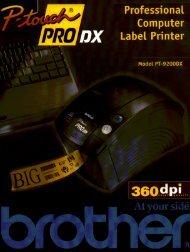 BX Label Printer - Brother