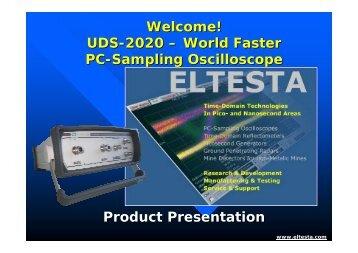 Welcome! UDS-2020 – World Faster PC-Sampling ... - Eltesta