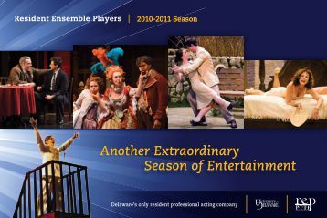 Another Extraordinary Season of Entertainment - University of ...