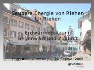 constant since 1994 - Gruneko Schweiz AG