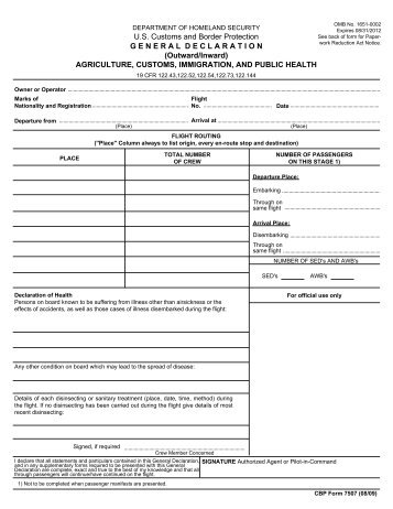 How To Fill Out Your Us Customs Form 3299 World Baggage