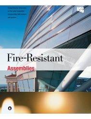 Fire-Resistant Assemblies - USG Corporation
