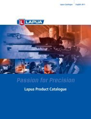 Lapua Product Catalogue - LHS-Germany GmbH