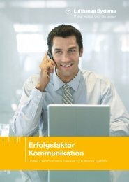 Erfolgsfaktor Kommunikation - Unified Communication Services by ...